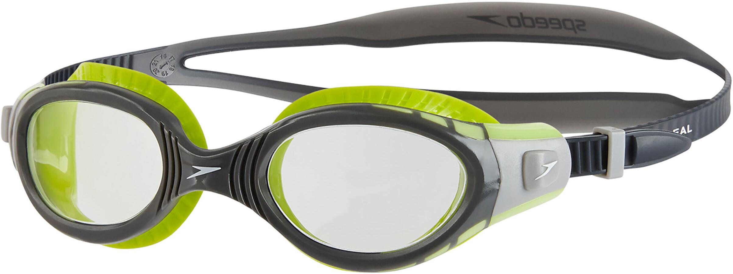 speedo Futura Biofuse Flexiseal Simglasögon grå grön - till ... 316c2541d494d
